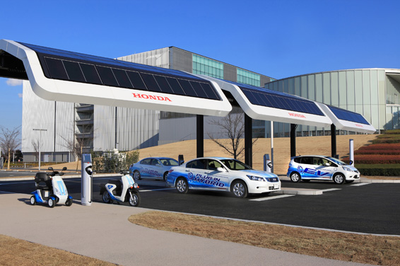Honda Opens New Fuel Station Powered With Solar Energy