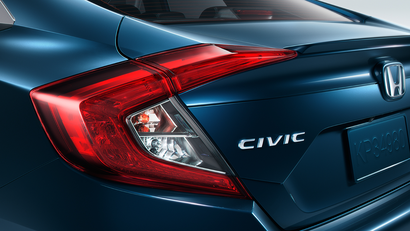mfg 2016 honda civic - B